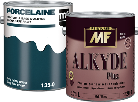 Étiquette gallon Alkyde peinture pour surface de calcime