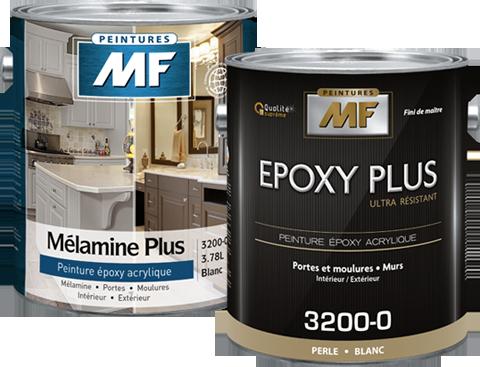 Étiquette gallon de peinture Epoxy Plus