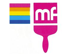 Ancien logo Peintures MF