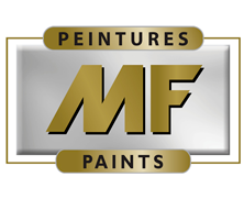 Logo Peintures MF billingue