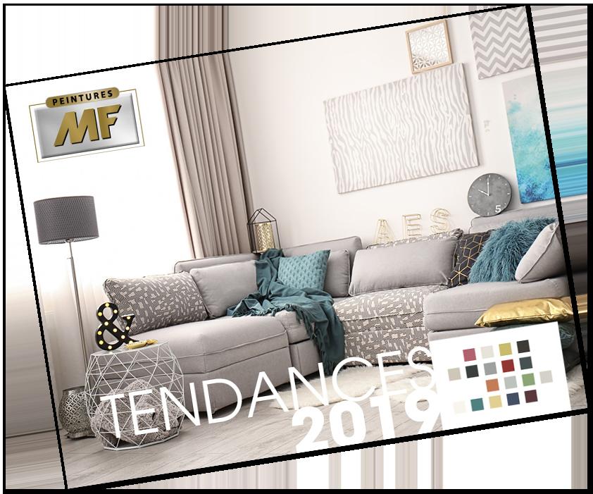 Guide tendance 2019 Peintures MF couleur décoration