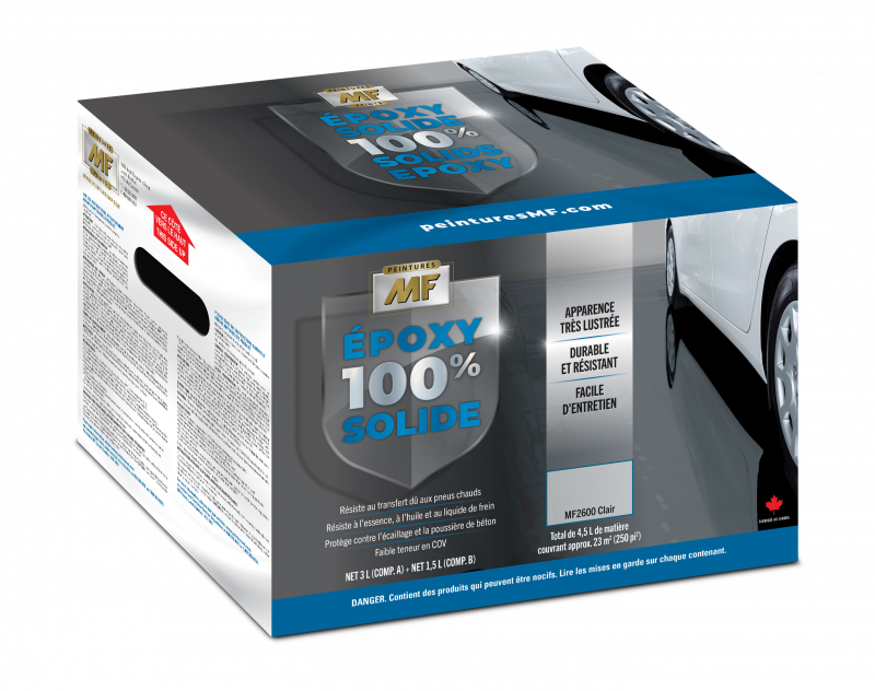 100% Epoxy Solide MF2600 Clair