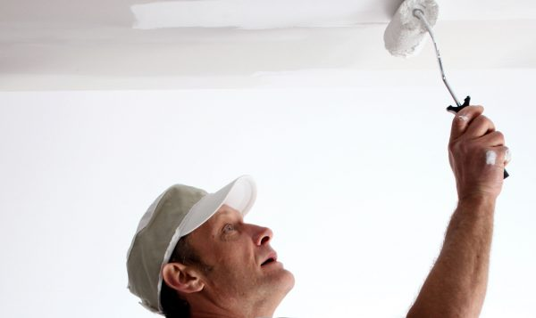 Painting a Ceiling Like a Professional