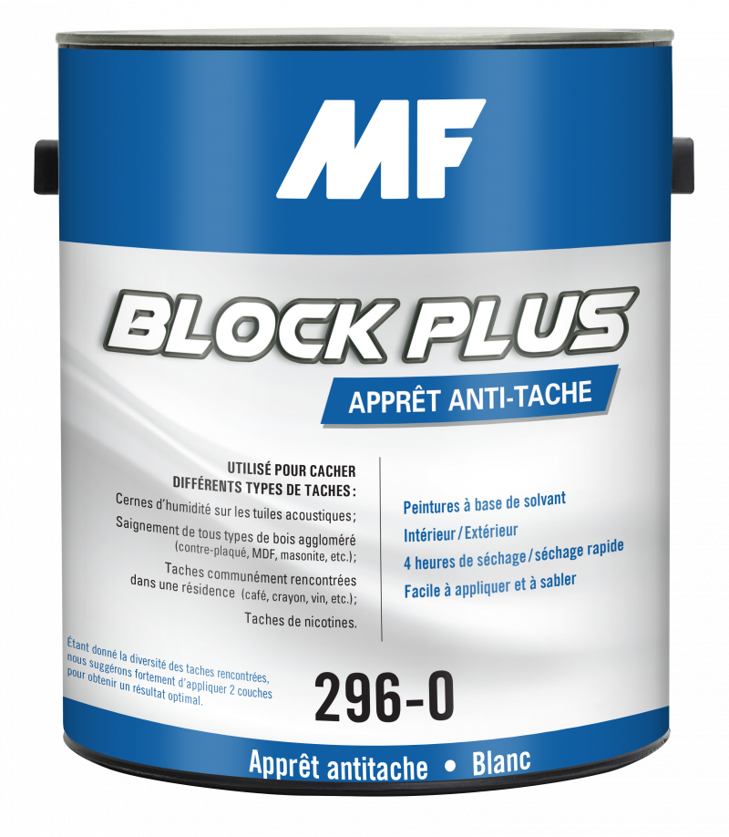 Block Plus 296 Peintures MF