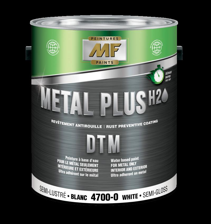 Gallon Metal Plus 4700 DTM de Peintures MF