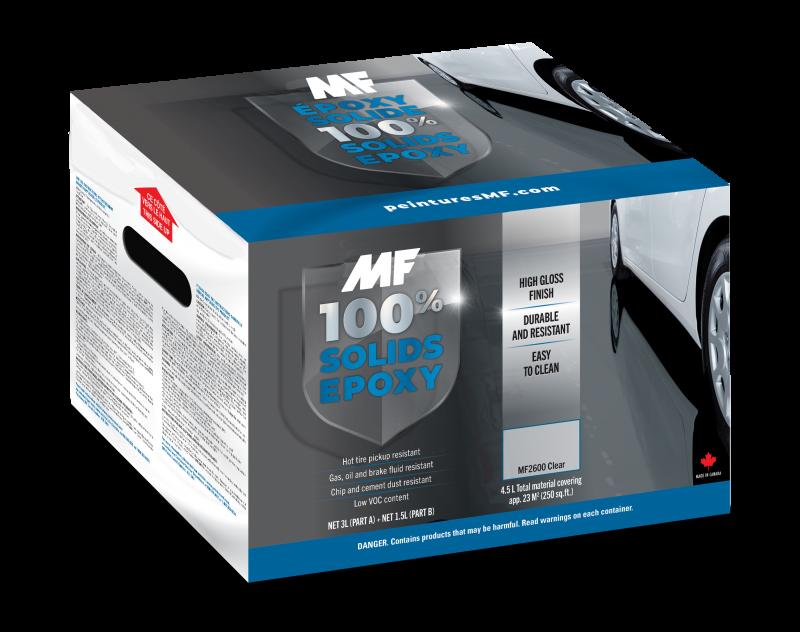 100% Solids Epoxy MF2600 Clear