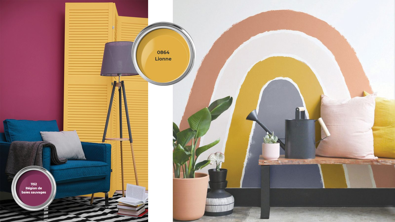 Quel Mur Peindre En Couleur Salon nos couleurs tendances 2020 - peintures mf