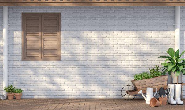 Comment peindre un mur extérieur en brique?